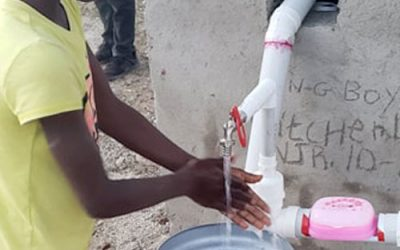 Handwashing Stations Established